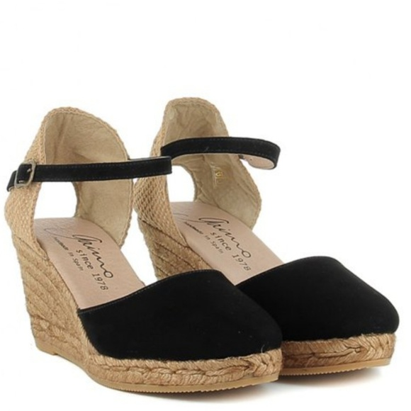 7818b42d0f9 Size 9 Gaimo Obi Espadrille wedges, new condition
